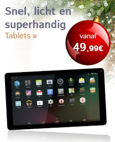 Snel, licht en superhandig Tablets