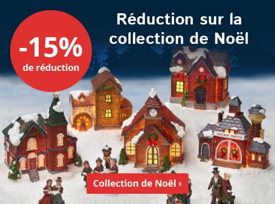 Réduction sur la collection de Noël. -15% de réduction. Collection de Noël ›