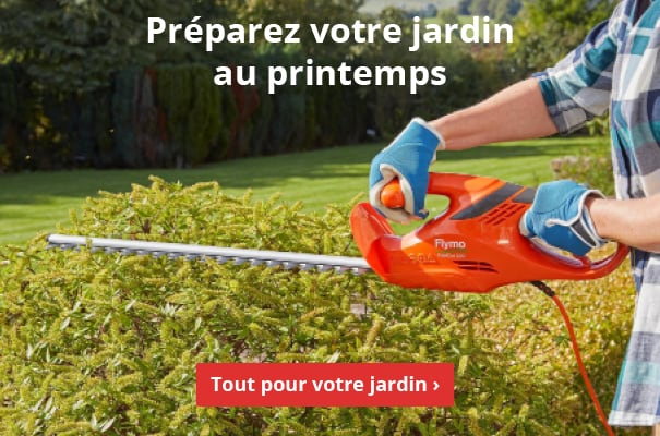 Préparez votre jardin au printemps !