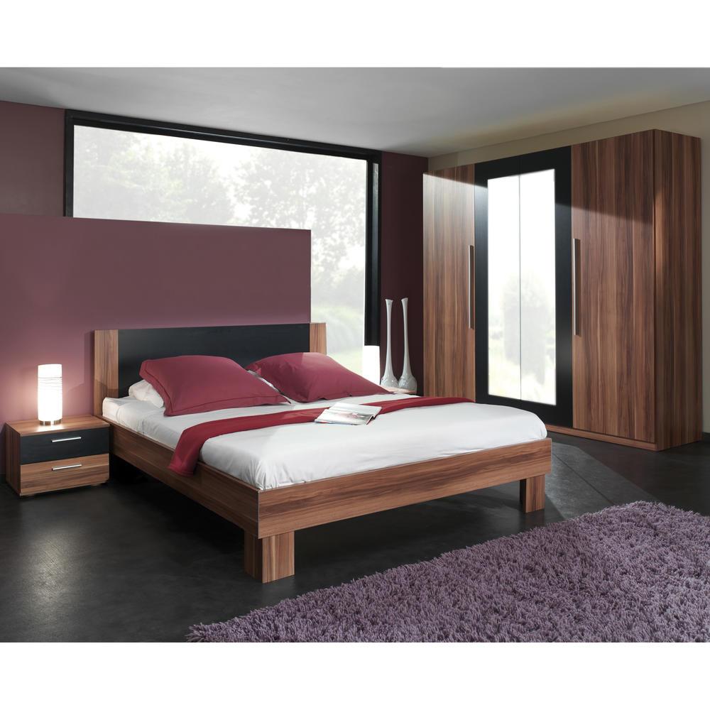 chambre coucher 2 personnes milano - Chambre A Coucher Adulte
