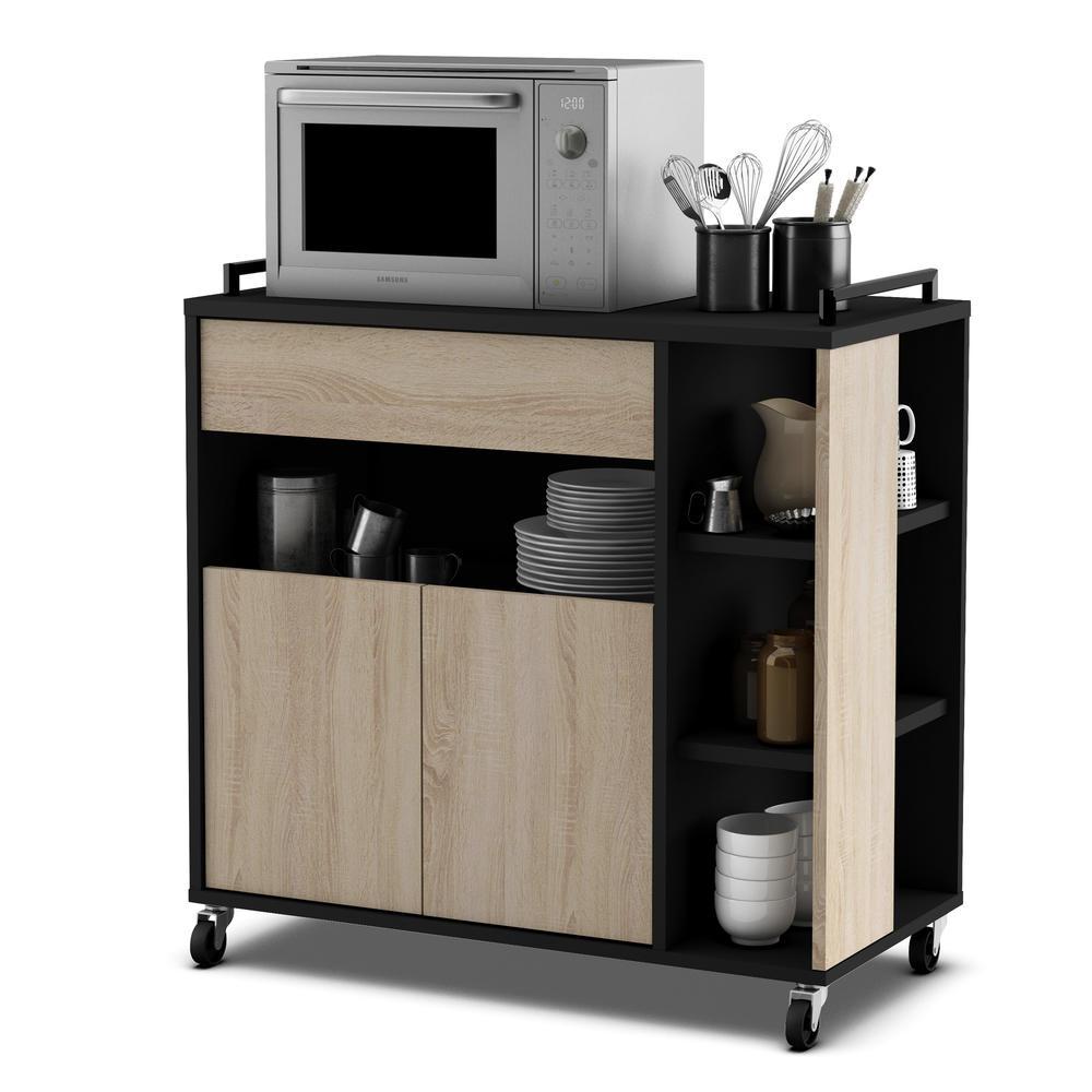 Armoire De Cuisine Meubles De Cuisine Pas Chers Sur Unigro - Petit meuble a roulettes pour idees de deco de cuisine