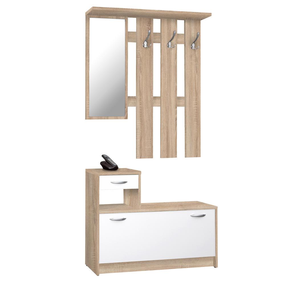 Meuble d\'entrée : Dressing, Miroirs et Portes-Manteaux - Unigro