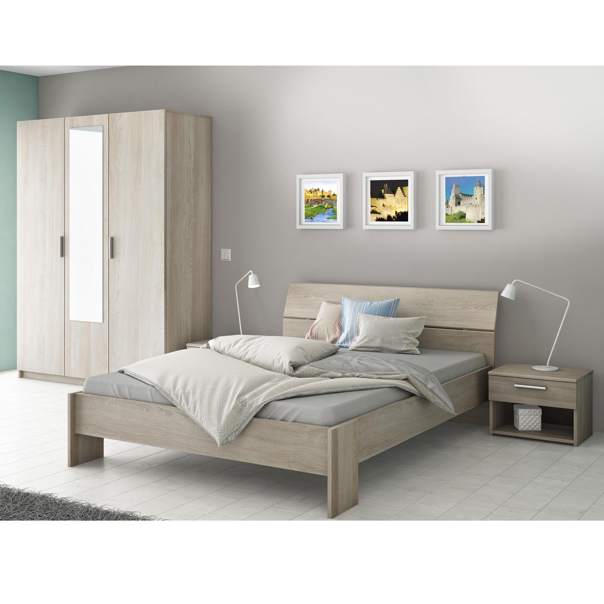 Chambre à coucher 2 personnes Carcassonne+sommier - Chambres à ...