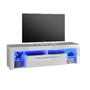 Meuble TV avec éclairage LED
