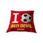 Kussen I Love Red Devil Belgium