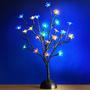Arbre en fleur avec éclairage LED