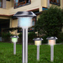 Lot de 4 lampes solaires