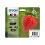 Set van 4 kleureninktcartridges EPSON T298640 4PACK