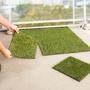 Lot de 10 dalles de pelouse