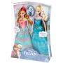 Disney La Reine des Neiges Anna et Elsa MATTEL