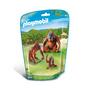 PLAYMOBIL® 6648 Deux orangs-outangs avec bébé