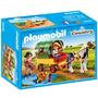 PLAYMOBIL® 6948 Enfants avec chariot et poney