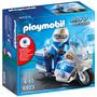 PLAYMOBIL® 6923 Politiemotor met LED-licht