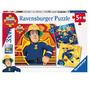 3 puzzels Sam de Brandweerman RAVENSBURGER