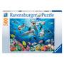 Puzzel Dolfijnen in het koraalrif RAVENSBURGER