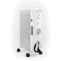 Radiateur à bain d'huile avec chauffage à ventilation DOMO DO7319R