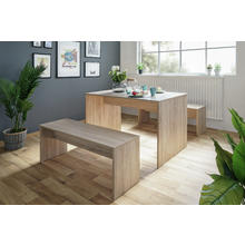Set table + 2 bancs