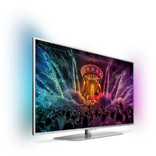 TV LED Ultra HD/4K Android avec Ambilight 108 cm PHILIPS 43PUS6551