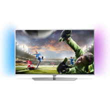 TV LED Ultra HD/4K Android avec Ambilight 139 cm PHILIPS 55PUS6551