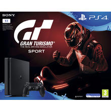 Pack PS4 console 1 TB + spel Gran Turismo Sport Black Bundle