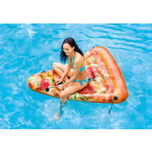 Matelas gonflable part de pizza INTEX