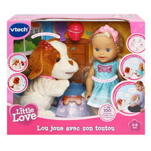 Little Love Suzy en haar puppy VTECH