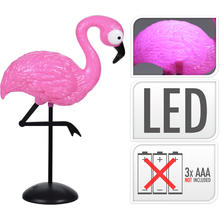 Lampe LED Flamant rose