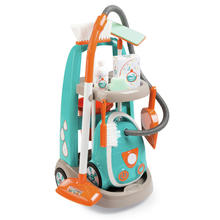 Clean service + aspirateur SMOBY