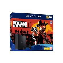 Pack PS4 console PRO 1 TB + spel Red Dead Redemption 2