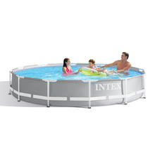Kit piscine Frame Pool Ø 366 x H. 76 cm INTEX