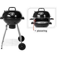 Barbecue met pizzaring