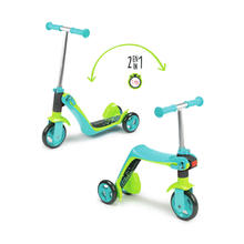 Step/loopfiets 2-in-1 blauw SMOBY