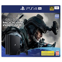 Pack console PS4 PRO 1 To + jeu Call of Duty : Modern Warfare