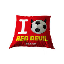 Kussen I Love Red Devil Belgium