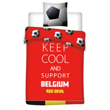 Parure housse de couette Keep Cool And Support Belgium