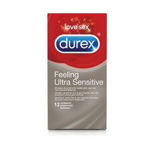 12 préservatifs 'Feeling Ultra Sensitive' DUREX