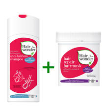 Lot shampooing + masque capillaire HAIRWONDER