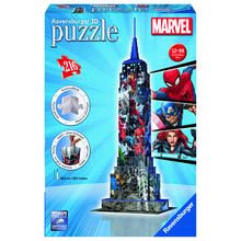 3D puzzel Empire State Building Marvel Avengers RAVENSBURGER