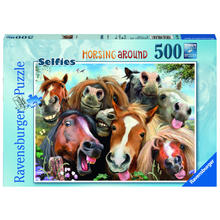 Puzzel Selfies! Horsing Around RAVENSBURGER