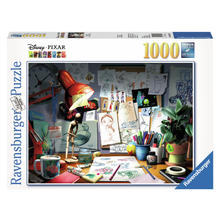 Puzzel D-Pixar: The Artist's Desk RAVENSBURGER