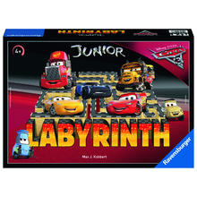 Junior labyrint Disney Cars 3 RAVENSBURGER