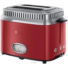 RUSSELL HOBBS TOASTER RED RETRO 21680-56 Ribbon