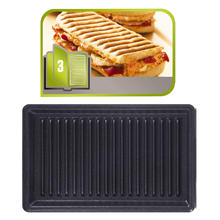 Plaques pour grillades/paninis TEFAL XA8003