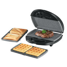 Wafel/croque/grill 3-in-1 GOURMETMAXX 05914