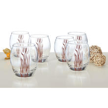 Lot de 6 verres Safari