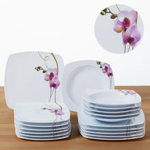 18-delig servies Orchidee in melamine