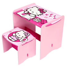 Bureau met bankje HELLO KITTY