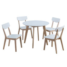 Table + lot de 4 chaises Livina