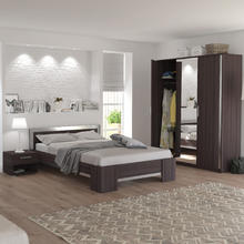 Chambre coucher adulte lit matelas et meubles de for Chambre pont a coucher 2 personnes