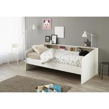 Lit 1 personne Gina + sommier + matelas